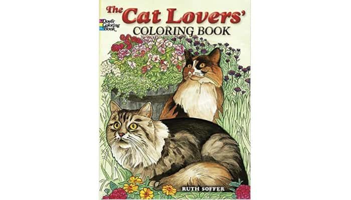 cat lover's coloring book
