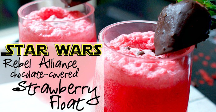 chocolate-covered strawberry float recipe fb