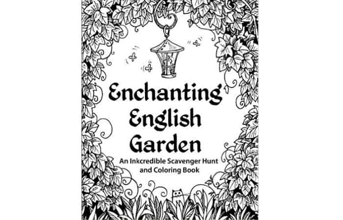 coloring book for adults gift idea