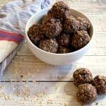 dairy-free chocolate breakfast balls recipe feature