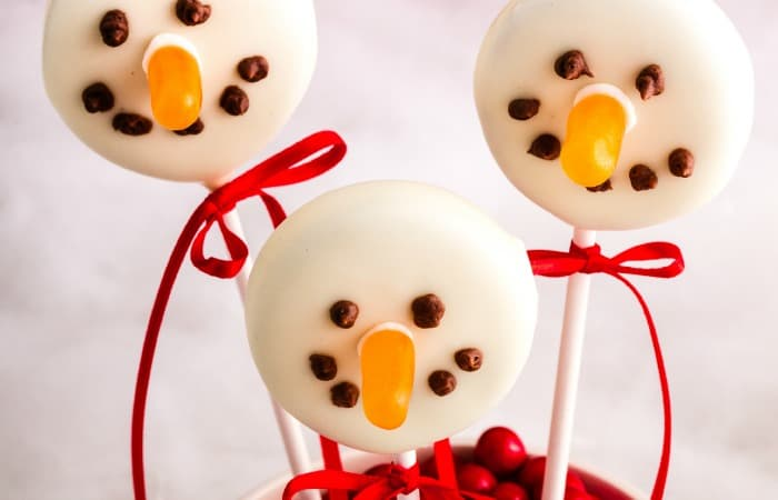easy christmas cookie pop idea without dairy feature