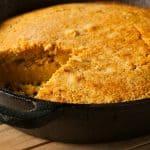 easy egg-free cornbread recipe feature