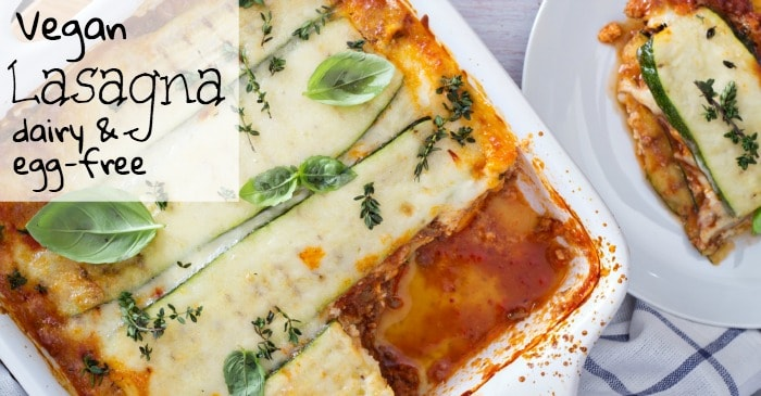 easy eggless and dairy-free lasagna fb