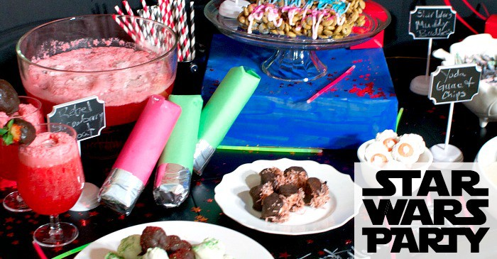 easy party ideas for a star wars party fb