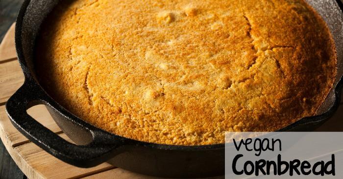 easy vegan cornbread recipe fb