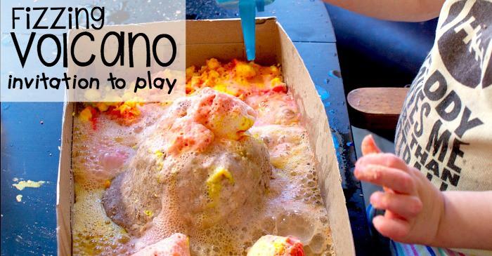 fizzing volcano invitation to play fb
