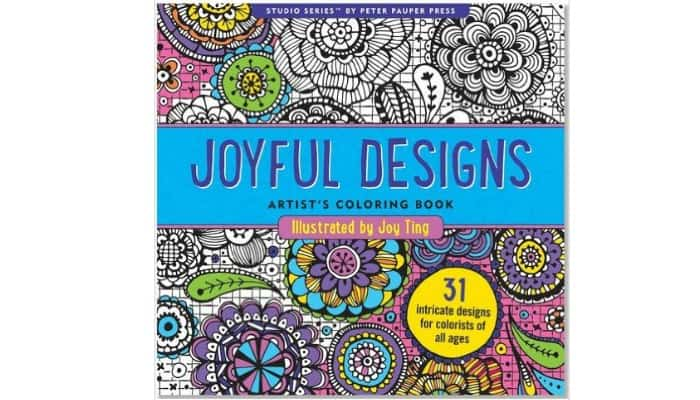 fun designs for adult coloring