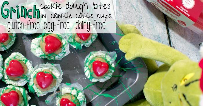 gluten-free egg-free dairy-free crinkle cookies fb