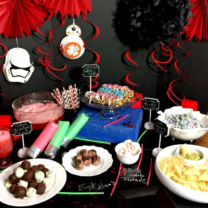 star wars party ideas sq