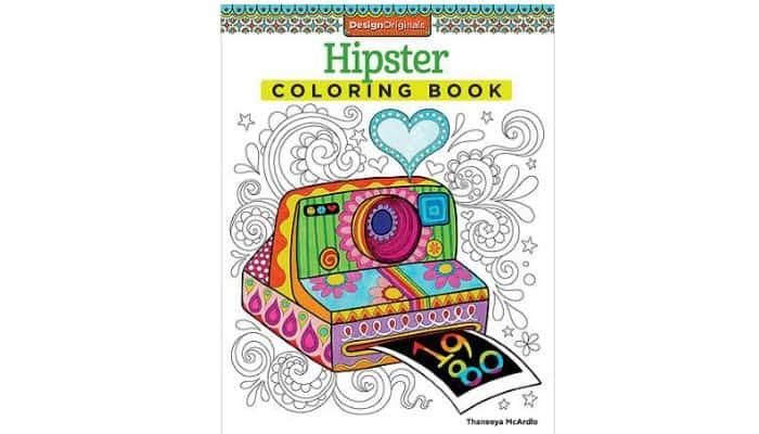 stocking stuffer idea adult coloring book