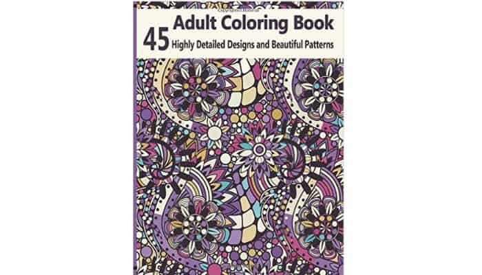 swirly adult coloring page designs