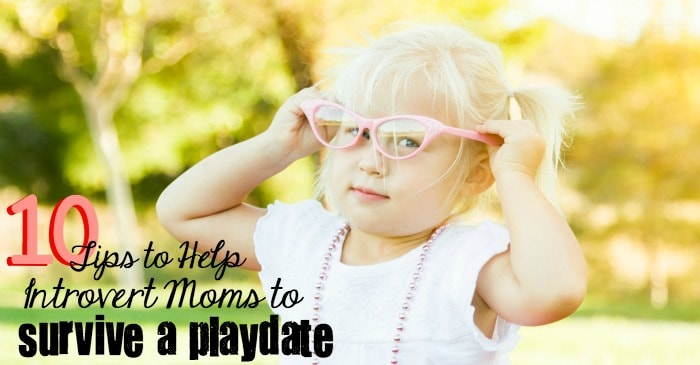 10 Tips to Help Introvert Moms to Survive a Playdate fb