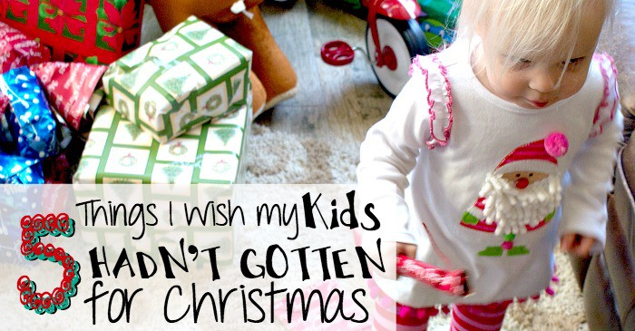 Please don't give my kids these things for christmas fb