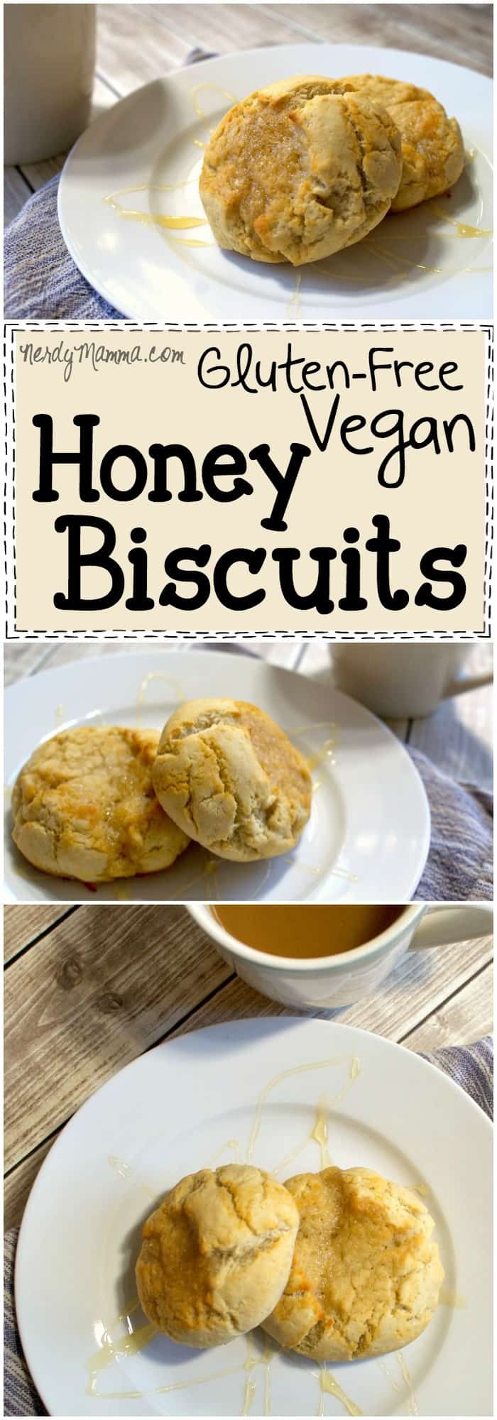 This recipe for gluten-free vegan honey biscuits is SO AWESOME. It looks so easy and the biscuits...wow. Pretty sure this is paleo, too. LOVE!