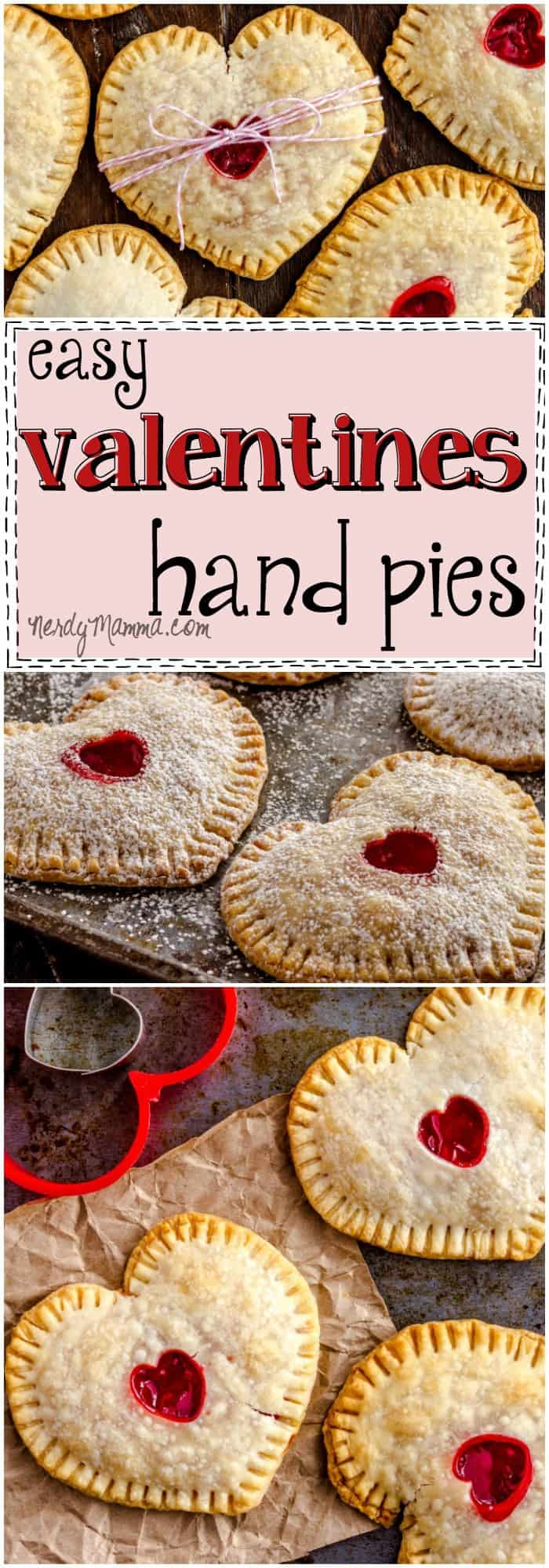 This recipe for these cute Valentines Hand Pies is just so ridiculously easy...Can;t believe I never tried this before! LOL!