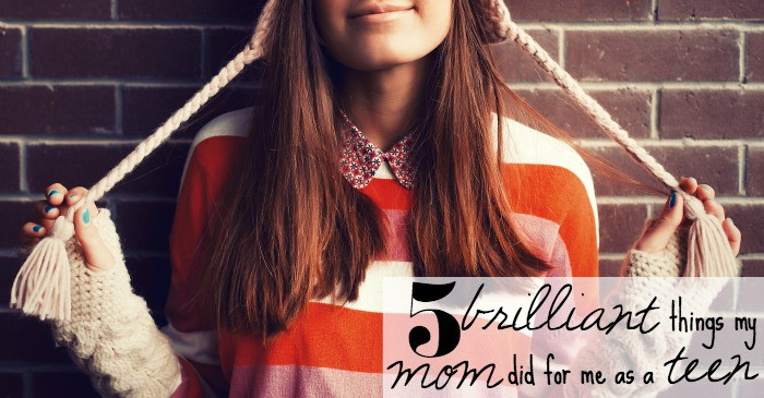 best things a mom can do for her teen daughter fb