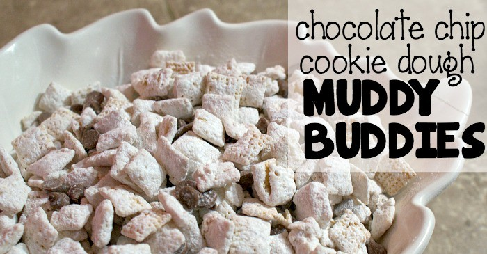 chocolate chip cookie dough puppy chow recipe fb