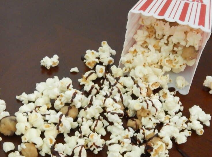 cookie dough popcorn recipe feature