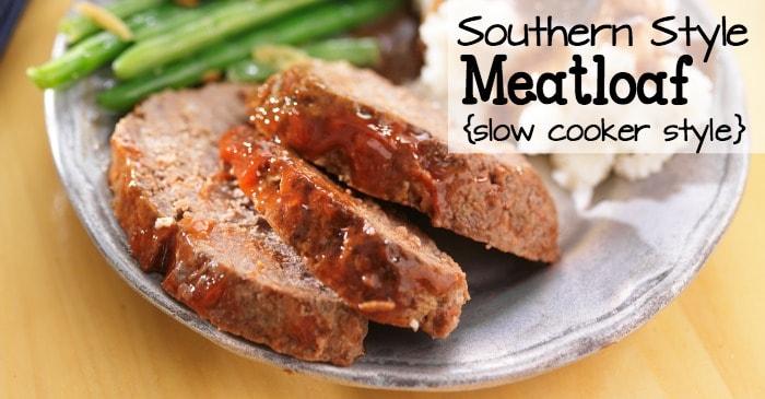 crock pot recipe for meatloaf fb