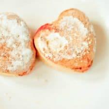 Valentine Vegan Jelly Donuts
