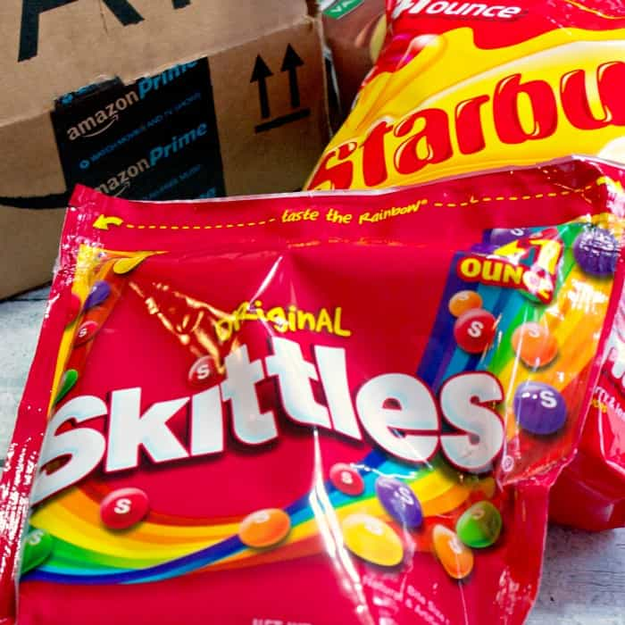 how to make rainbow ice cream with skittles candy amzn