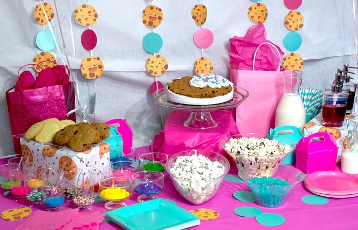 kawaii cookie party feature