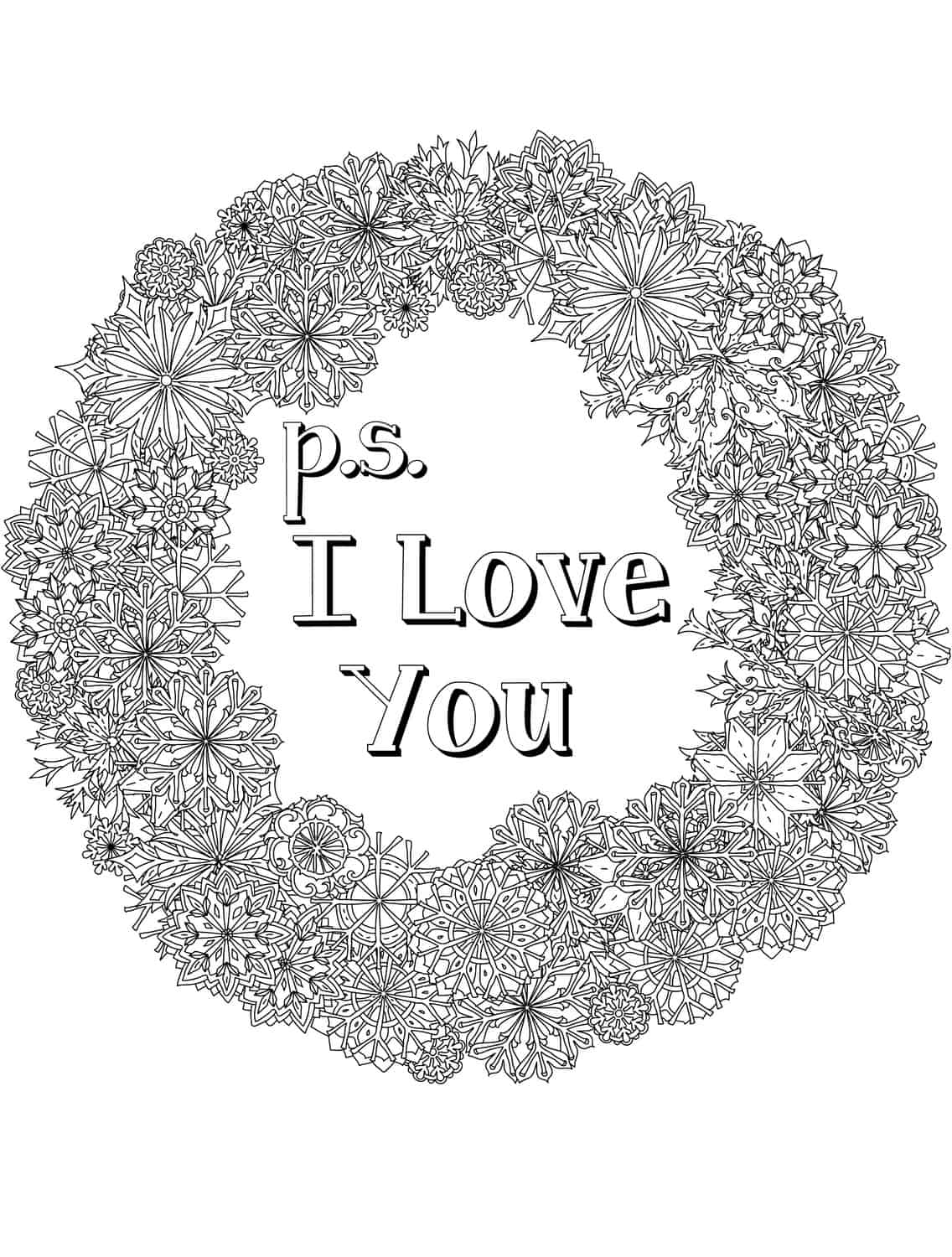 adult coloring pages download | 20 Free Printable Valentines Adult Coloring Pages - Nerdy ...