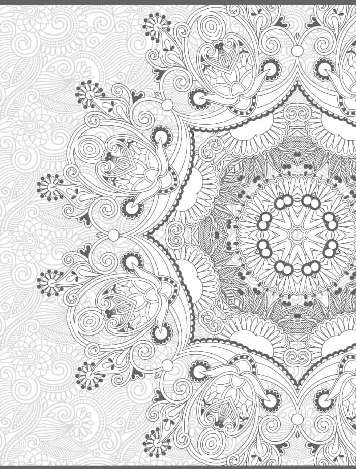 pretty free printable coloring pages for adults web