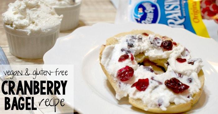 recipe for vegan and gluten-free bagels fb