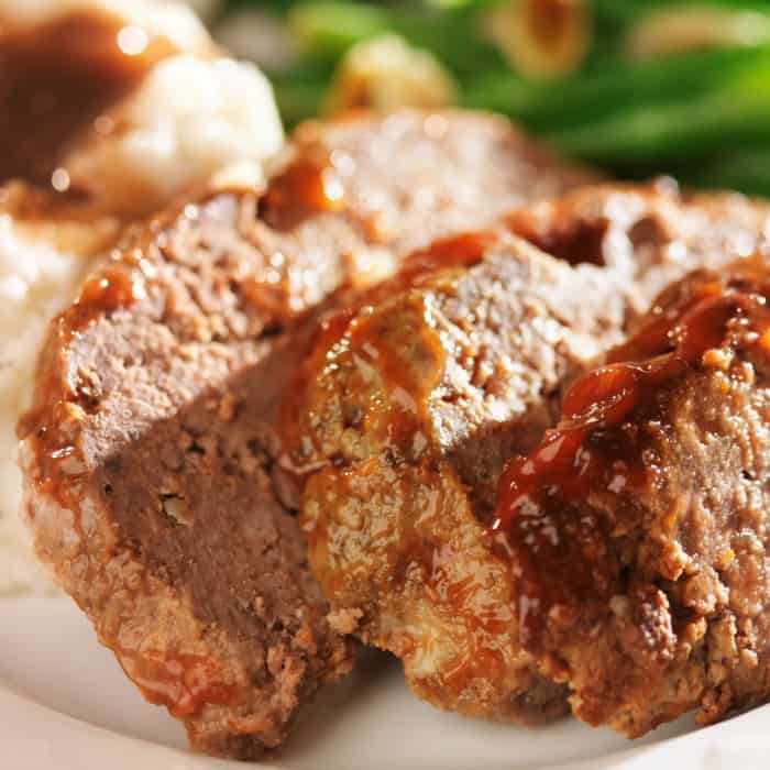 slow cooker recipe for Southern Style Meatloaf sq