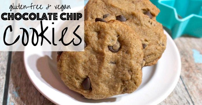 vegan chocolate chip cookie recipe fb