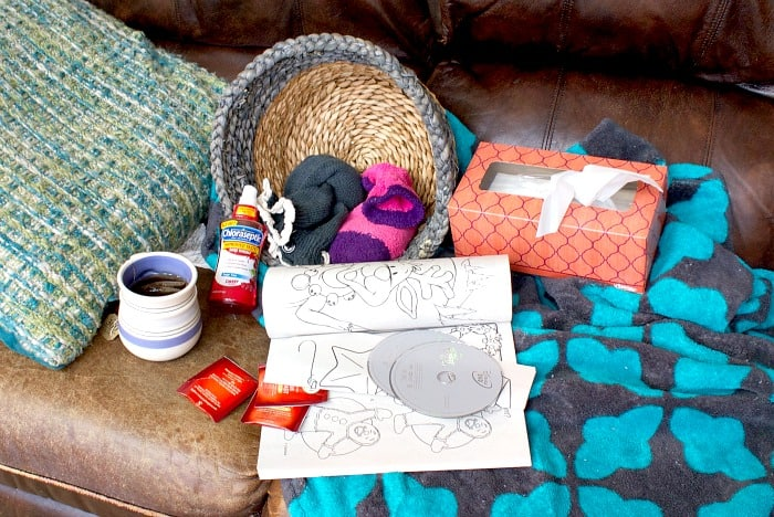 what you need to survive being sick with kids ra