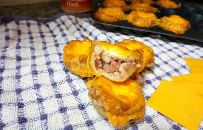 Hash, Egg and Cheese Breakfast Bites feature