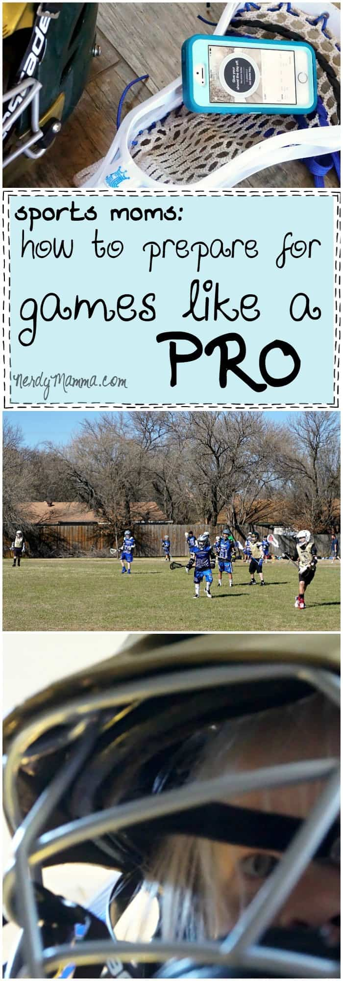 I love this list of things to help make your sports games feel more comfortable! How to Prepare For Games Like a Pro...LOL!