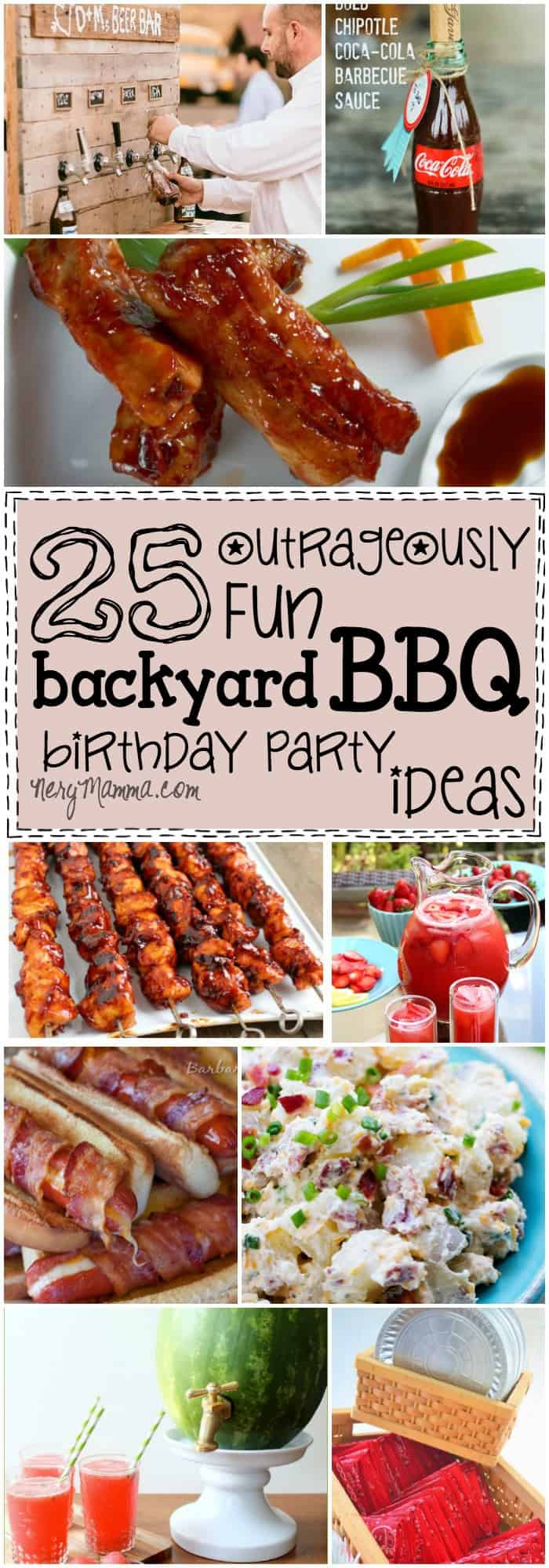 25 outrageously fun backyard bbq birthday party ideas - Idees pour barbecue party ...