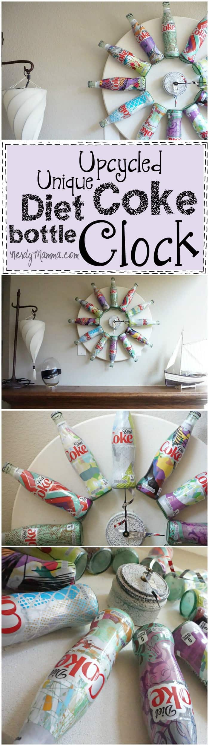 This is such a great idea for using old Coke Bottles! I love how easy the tutorial is and the results are just cool!