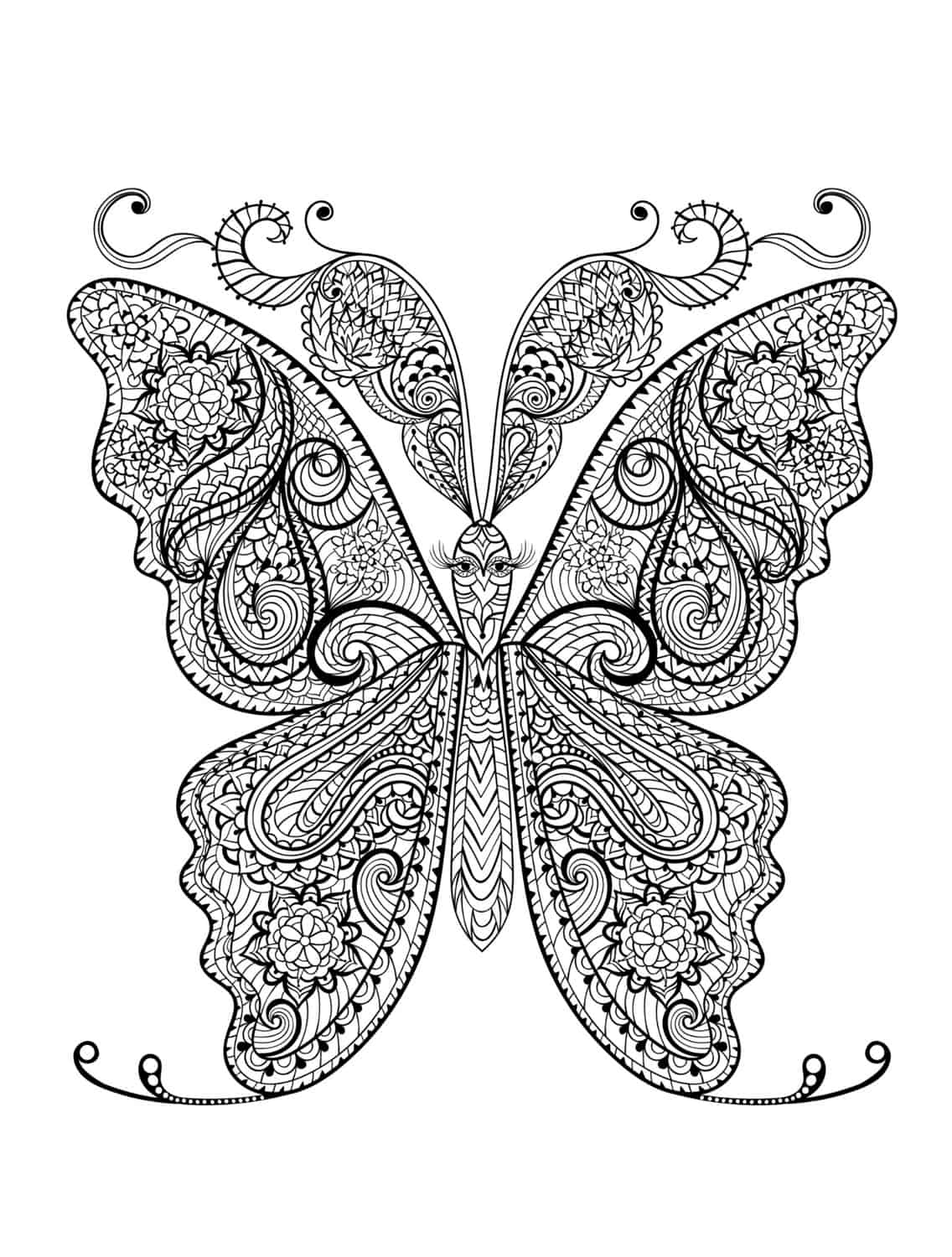 23 Free Printable Insect & Animal Adult Coloring Pages - Page 19 of ...