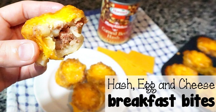 corned beef hash egg and cheese breakfast bites fb