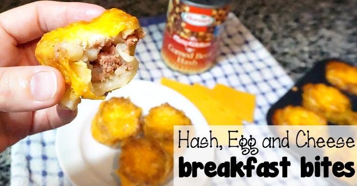 corned beef hash egg and cheese breakfast bites fb