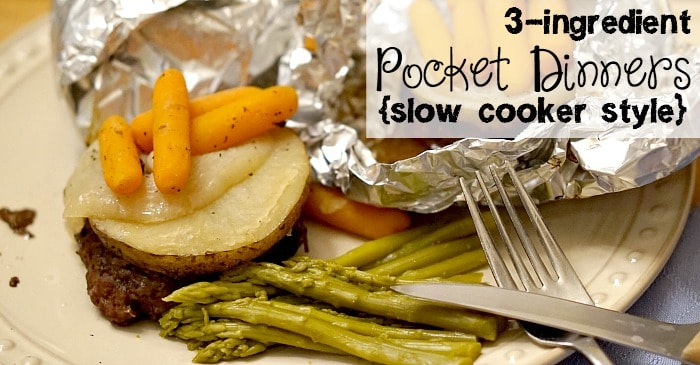 easy hobo dinner recipe with 3-ingredients fb