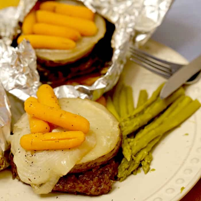 easy recipe for 3-ingredient pocket dinner in the slow cooker sq