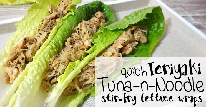 easy recipe for tuna noodle stir fry fb