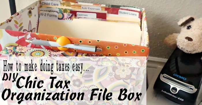 easy way to organize your tax documents fbook