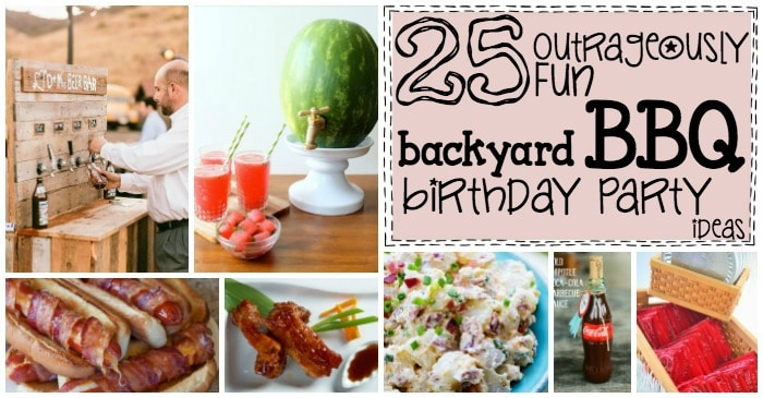 fun ideas for a BBQ party fb
