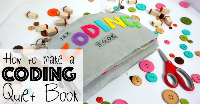how to make a coding quiet book fb