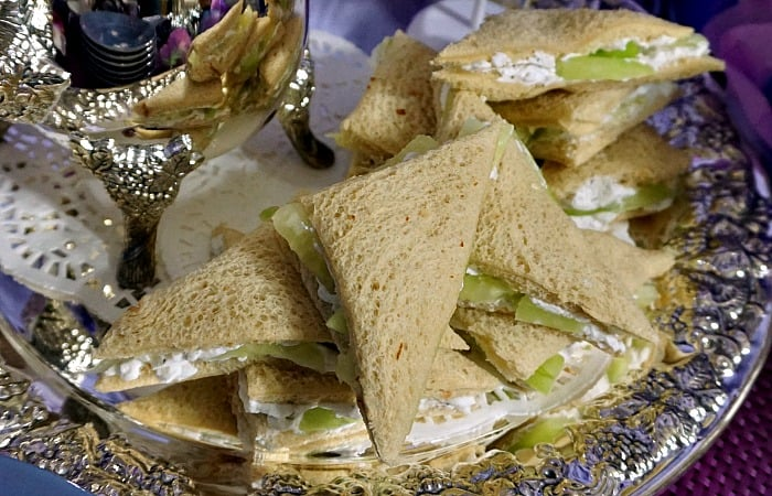how to make cucumber sandwiches without cheese feature