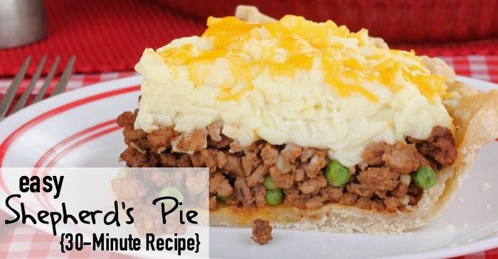 how to make shepherd's pie fast fb