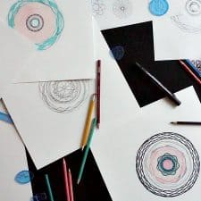 How to Make Adult Coloring Pages