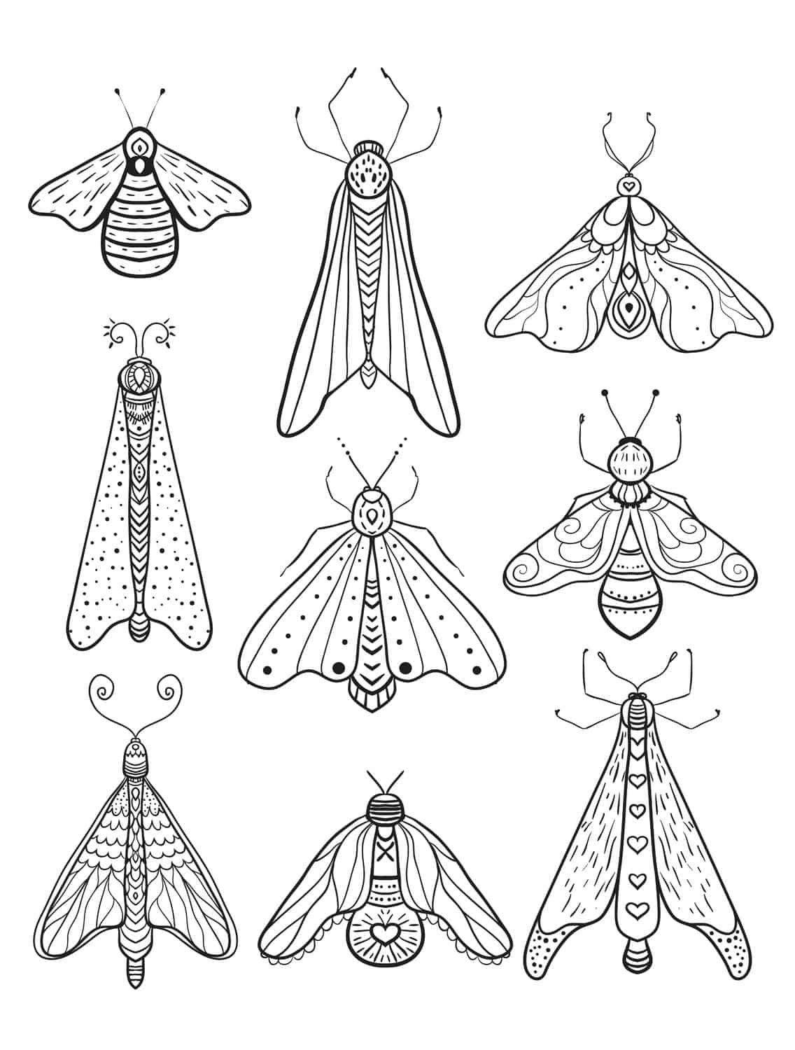 23 Free Printable Insect & Animal Adult Coloring Pages - Page 10 of ...