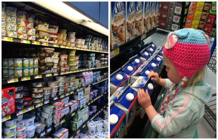silk milk instore photo